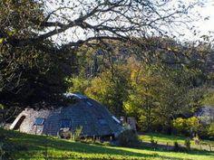 La Tierra Media se junta con la Revolución Sostenible en una casa ecológca de estilo Hobbit en una de las regiones más bonitas de #Francia #Alsacia
