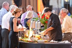 A carving station at your next event could be the perfect finishing touch by Brancato's Catering