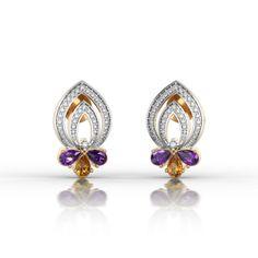 Hafnium Flame Earrings
