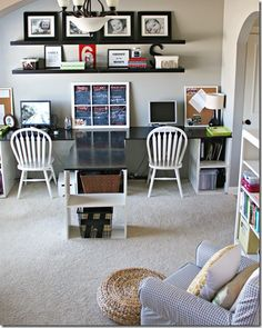 Office/Playroom combo