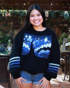 Crochet Jumper, Knit Cardigan Pattern, Knit Crochet, Crochet Chart, Crochet Patterns, Crochet Ideas, Crochet Projects, Yarn Projects, Knitting Patterns