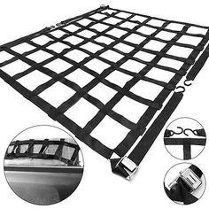 Black Axiom Elastic Cargo Net
