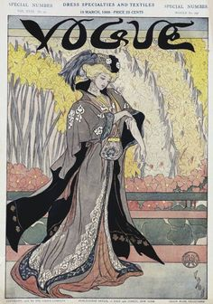 Postcards from Vogue: 100 Iconic Covers - March 1908
