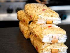 Des pâtes oui, mais des pâtes italiennes