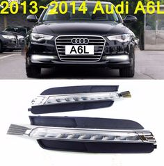 """152.00$  Buy now - http://alituh.worldwells.pw/go.php?t=32742594747 - """"Car-styling,A6L daytime light,2013~2016,LED,Free ship!2pcs,car-detector,A6L fog light,car-covers,steering-wheel"""