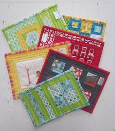 https://flic.kr/p/9EzxKf | Mug rugs | Mug rugs for my children's teachers  sotakhandmade.blogspot.com/