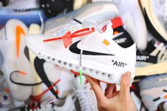 f37055535a20 Virgil Abloh OFF-WHITE X NIKE AIR MAX 97 AJ4585-100 Air Max 97