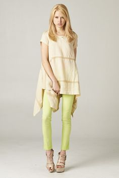 Claudia Tunic in Linen on Emma Stine Limited
