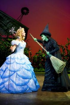 Wicked on West End - Apollo Victoria Theatre, London, England