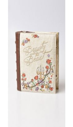 From our Beauty and the Beast Collection: Danielle Nicole Brown & Woven Beauty & The Beast Book Clutch