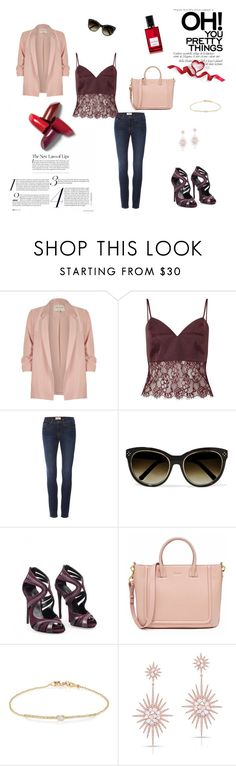 """""""River Island"""" by almir-djulo ❤ liked on Polyvore featuring River Island, Miss Selfridge, Frame, Chloé, Dolce&Gabbana, Tate, Anne Sisteron and Diana Vreeland"""