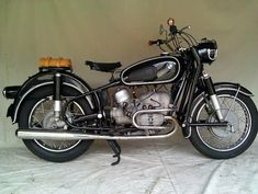 BMW R50/2 Earles - Correct and Original Vintage German Motorcycle  #www.motorcyclefederation.com
