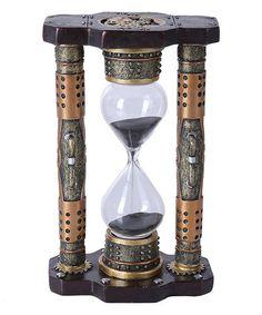 Another great find on #zulily! Steampunk Sand Hourglass Figurine #zulilyfinds