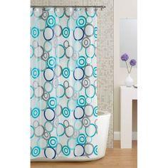 Mainstays Circles PEVA Shower Curtain At Walmart