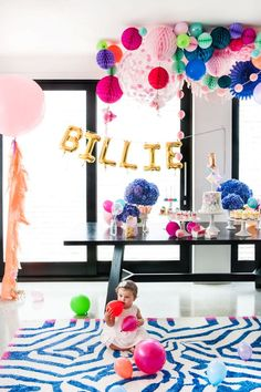 Decorations & styling by Poppies for Grace. Cuteness provided by Billie