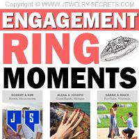 ►► ENGAGEMENT RING MOMENTS ►► Jewelry Secrets