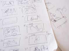 "Illustrations for ""Train Stations!"" start as doodles or thumbnails."