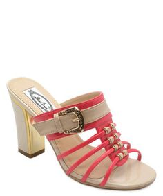 Loving this Red Buckle Sandal on #zulily! #zulilyfinds