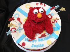Delightful Treats @ Elmo Birthday Cake