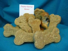 Peanut Butter Bones - simple yet wonderful    Available at www.nimahsnibbles.com