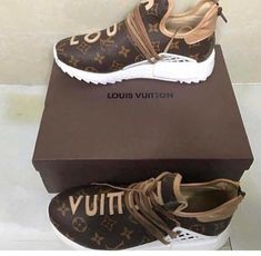 Tennis Shoes High Heels For Women Tennis Shoe Boots For Men Lv Shoes, Tennis Shoes Outfit, Hype Shoes, Casual Shoes, Shoe Boots, Chanel Tennis Shoes, Shoes Heels, Zapatillas Louis Vuitton, Louis Vuitton Sneakers