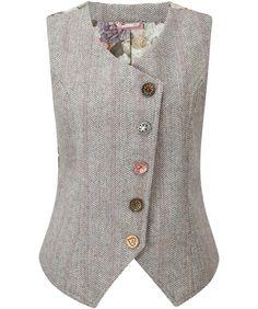 Joe Browns Women's Heritage Tweed Winter Waistcoat: Amazon.co.uk: Clothing