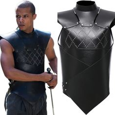 Game of Thrones Gray Worm Costume Uniform Cosplay Halloween Vest Suit