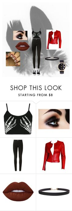 """hipster goth"" by emo-to-the-extremo on Polyvore featuring Boohoo, J Brand, Gucci, Lime Crime, Humble Chic and hipstergoth"