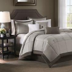 modern bed set overstock