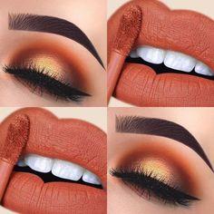 Gorgeous Makeup: Tips and Tricks With Eye Makeup and Eyeshadow – Makeup Design Ideas Skin Makeup, Eyeshadow Makeup, Eyeliner, Eyeshadow Palette, Eyebrows, Yellow Eyeshadow, Makeup Palette, Makeup Cosmetics, Cute Makeup