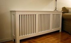 MDF Shaker-Style Radiator Cover from Fichman - © Fichman