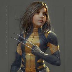 Reckon we'll have a movie with X-23(Laura) anytime soon?  Laura wolverine By Fajareka Setiawan  #Wolverine #Logan #Marvel #Xmen #Comic #Comics #ComicArt #ConceptArt #Movies #Film #Scifi #Art #FanArt #Character #Superhero