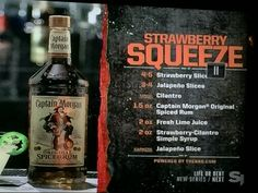Strawberry Squeeze from Crafted. on Bar Rescue