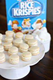 dinner or dessert: rice krispy treat macarons
