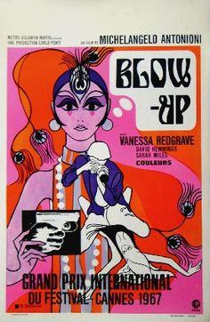Blow Up (Michelangelo Antonioni, poster in Belgian, 1967). Veja também: http://semioticas1.blogspot.com.br/2011/07/fala-da-moda.html