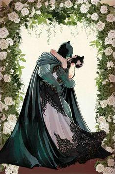 Art and colors by for the DC Comic book, Batman coming out soon. Catwoman and Batman are getting married. Batgirl, Batman Et Catwoman, Im Batman, Batman Art, Nightwing, Batwoman, Superman 1, Joker, Batman Stuff