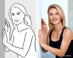 Еще одна поза, которая хорошо подходит для портретного снимка. Поднесите руки к стене и слегка обопритесь на нее. Тогда ваши руки останутся в кадре, но все внимание будет приковано к лицу.
