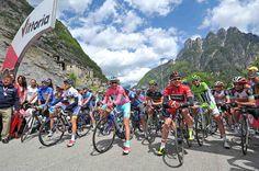 Tarvisio (Cave del Predil), 15 maggio 2013 – L'undicesima tappa del Giro d'Italia 2013, Tarvisio (Cave del Predil) – Vajont 1963/2013 Erto e Casso (182 km) è dedicata alla tragedia della diga del Vajont.