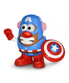 Another great find on #zulily! Captain America Mr. Potato Head PopTater by Captain America #zulilyfinds
