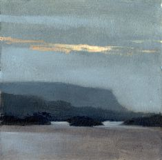 Marc Bohne . Untitled, #14-41. oil/alkyd on paper . 6 x 6 . The Dartrys near Sligo
