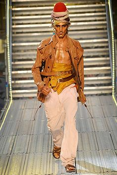 John Galliano Spring 2010 Menswear Collection on Style.com: Complete Collection