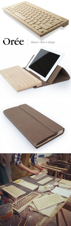 oree - french wooden keyboards