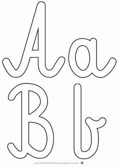 szablon literek pisanych