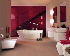 A New Twist On A Luxury Modern Bathroom Design From Laufen