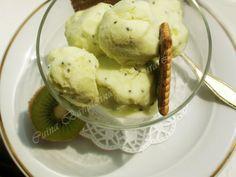 inghetata de kiwi Kiwi, Sorbets, Parfait, Mousse, Frozen, Food And Drink, Ice Cream, Candy, Vegetables