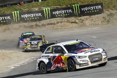 World RX: A full field of Audi Supercars in 2015 FIA World Rallycross Championship Audi Motorsport, Audi Cars, Weird Pictures, Monster Energy, In 2015, Rally Car, Wrx, Car Ins, Race Cars