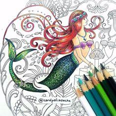 """Minha versão da Ariel no Oceano Perdido!!  My Ariel version on Lost Ocean. The tutorial video is on Youtube.com/ginapafiadache #Pafiadache…"""