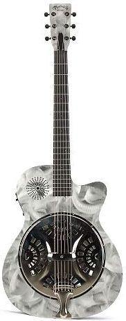 Martin aluminium Alternative II Resonator Guitar --- https://www.pinterest.com/lardyfatboy/