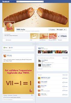 Timeline Facebook: TWIX Italia