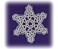 Snowflake #56 Ornament, Sova Enterprises